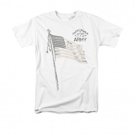 US Army Tristar White T-Shirt