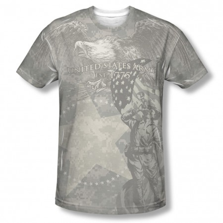 US Army Country's Call Sublimation T-Shirt