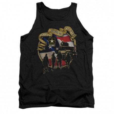 US Army Duty Honor Country Mens Tank Top