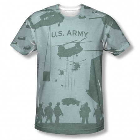 US Army Airborne Sublimation T-Shirt