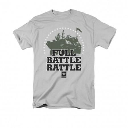 US Army Full Battle Rattle Gray T-Shirt
