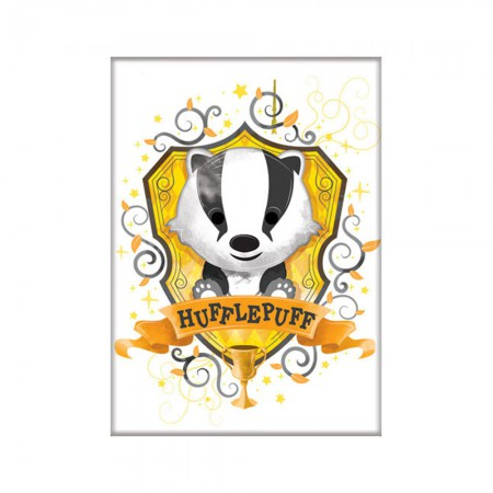 Harry Potter Cute Cartoon Hufflepuff Magnet
