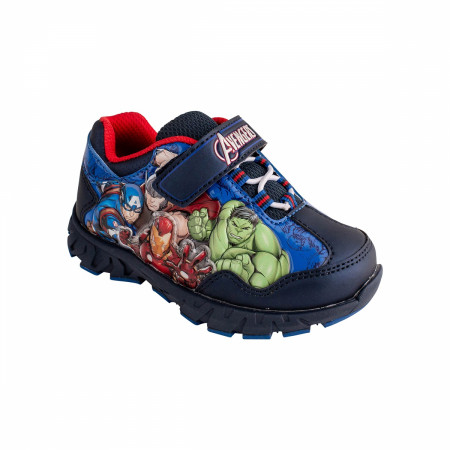 Marvel Avengers Assemble Ready to Fight Light Up Kids Shoes