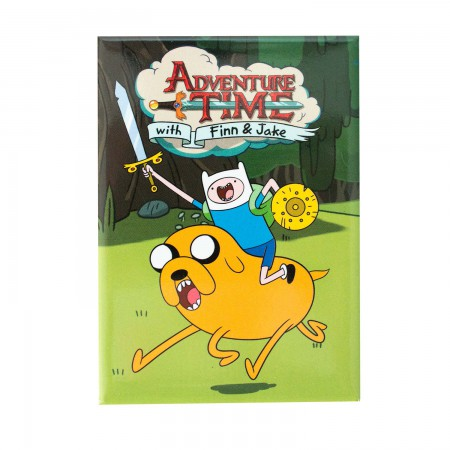 Adventure Time Green Charge Magnet