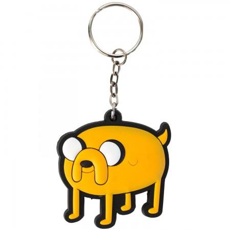 Adventure Time Rubber Jake Keychain