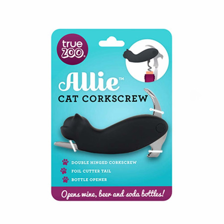 Allie Cat Corkscrew Bottle Opener
