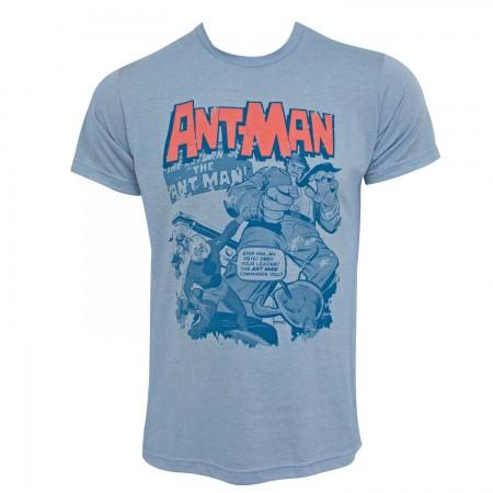 Ant-Man Pets Men's Blue T-Shirt