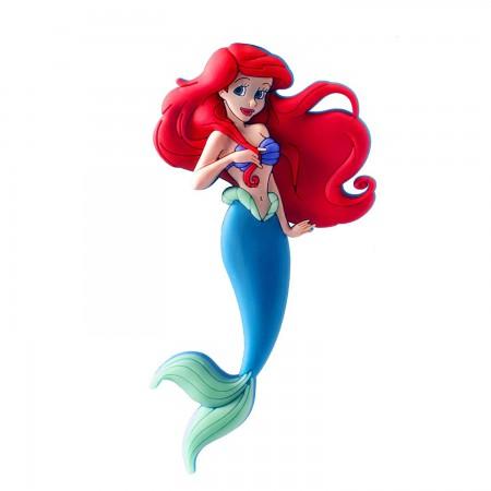 Disney The Little Mermaid Soft Touch 3D PVC Magnet
