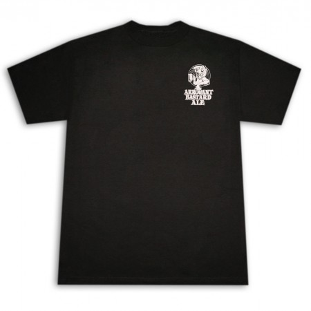 Arrogant Bastard Ale You're Not Worthy Black Graphic Tee Shirt