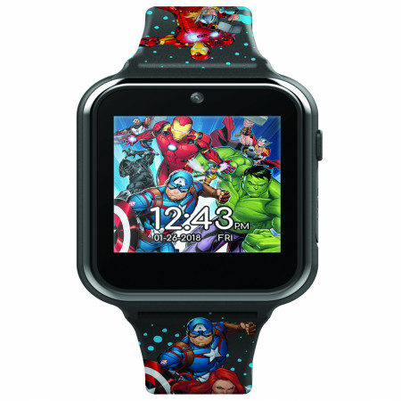 Accutime Avengers Interactive Kids Watch