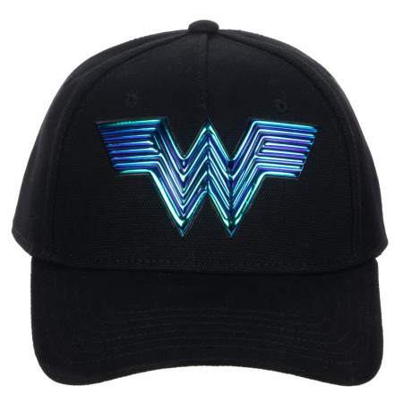 Wonder Woman 1984 Movie Logo Adjustable Strapback Dad Hat
