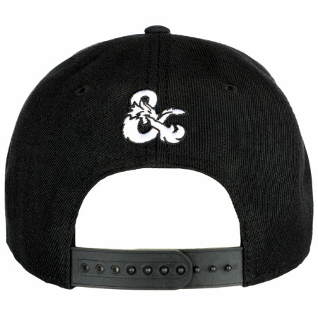 Dungeons and Dragons Roll For Initiative Curved Bill Snapback Hat