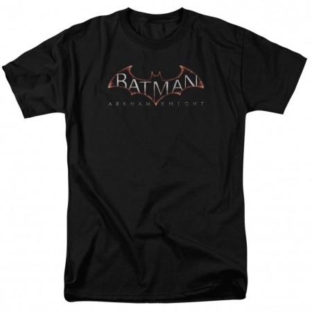Batman Arkham Knight Logo Men's Black T-Shirt