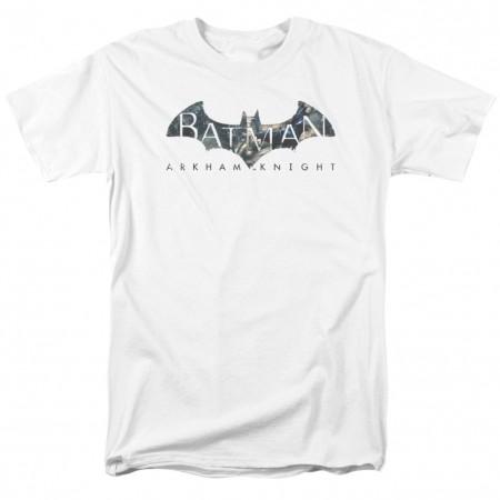 Batman Arkham Knight Men's White T-Shirt