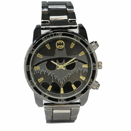 Batman Gunmetal Analog Watch
