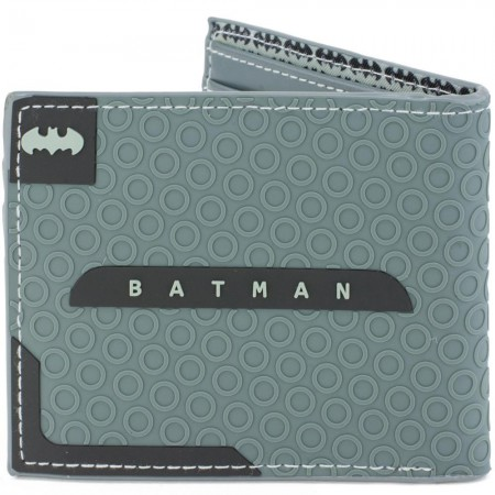 Batman Logo Grey Bifold Wallet
