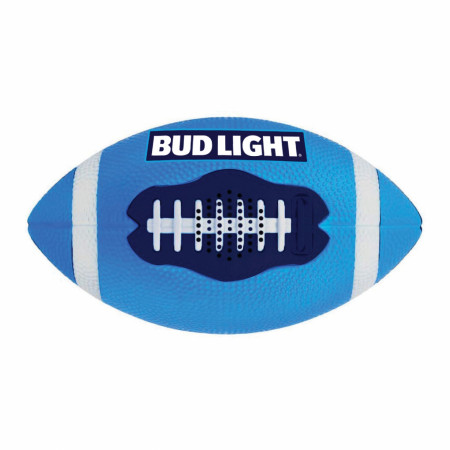 Bud Light Bluetooth Football Speaker Inflated & Playable