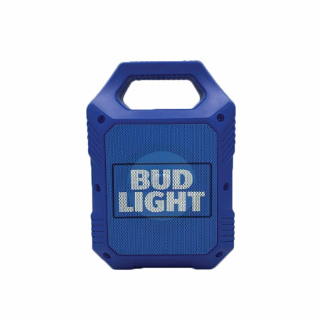 "Bud Light 9"" Rugged Tailgate LED Bluetooth Speaker"