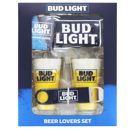 Bud Light Beer Lovers Gift Set