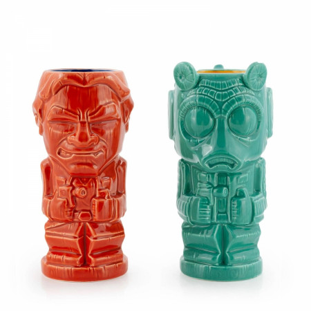 Star Wars Han vs. Greedo  2-Pack of Geeki Tikis® Mugs