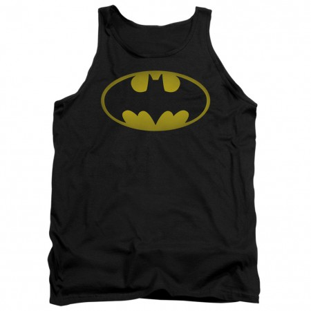 Batman Faded Logo Tank Top