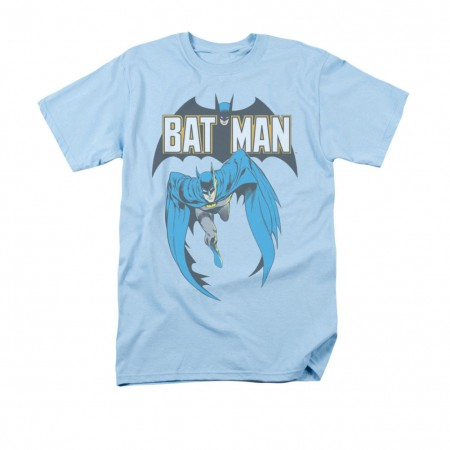 Batman Comic 241 Cover Blue T-Shirt
