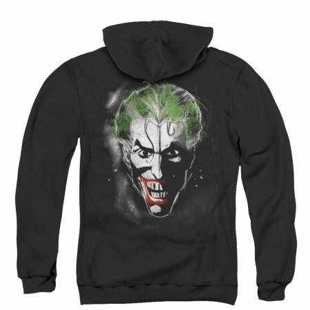 The Joker Portrait Zip Up Hoodie