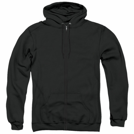 The Joker Portrait Zip Up Hoodie