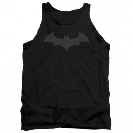 Batman Black on Black Logo Tank Top