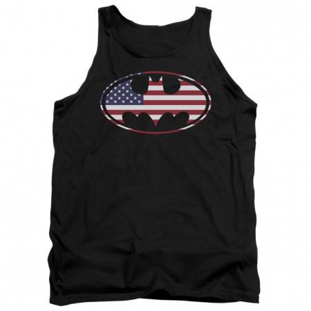 Batman American Flag Tank Top