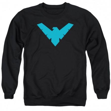 Nightwing Logo Crewneck Sweatshirt