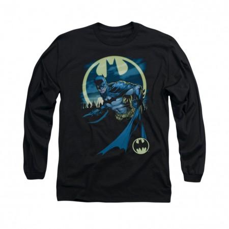 Batman Heed The Call Black Long Sleeve T-Shirt