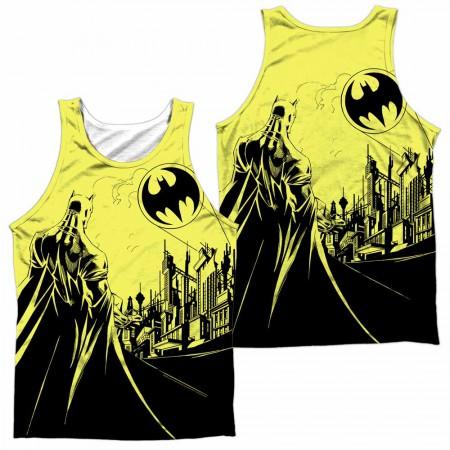 Batman Bat Signal Sublimation Tank Top
