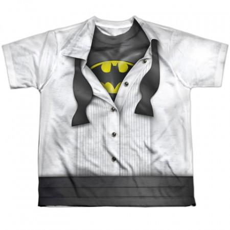 Batman Tuxedo Costume Youth Tshirt