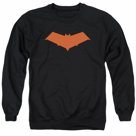 Batman Red Hood Logo Crewneck Sweatshirt