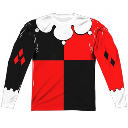 Harley Quinn Long Sleeve Costume Tee