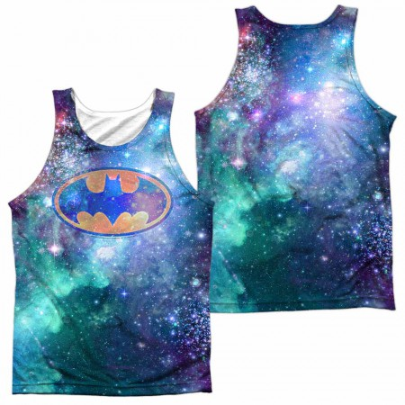 Batman Galaxy Symbol Sublimation Tank Top