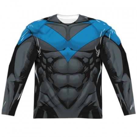 Nightwing Long Sleeve Costume Tee