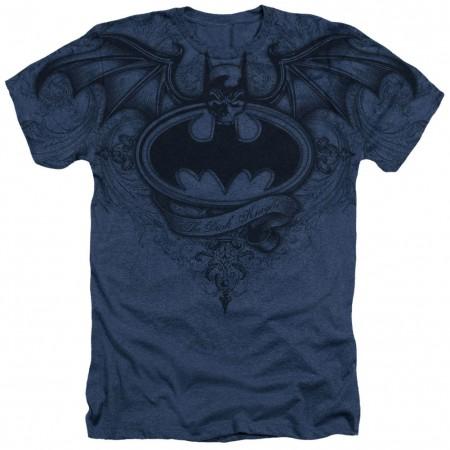 Batman Sublimated Logo Blue T-Shirt