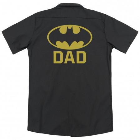 Batman Dad Work Shirt