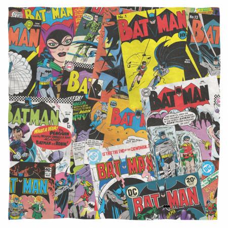 Batman Vintage Comics Bandana