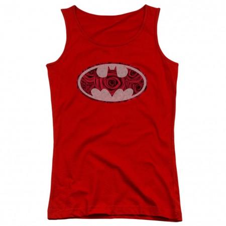 Batman Rose Logo Women's Tank Top