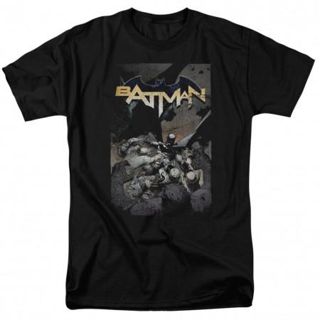 Batman One Men's Black T-Shirt