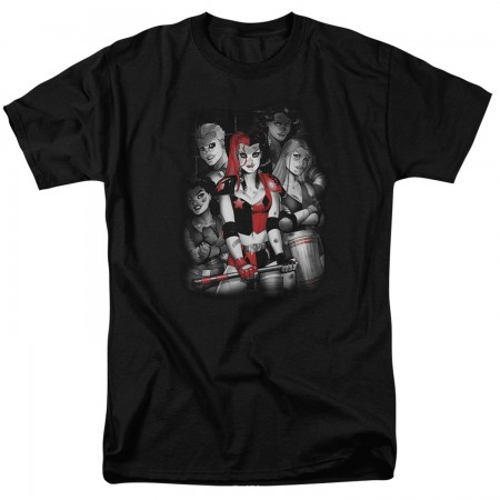 Harley Quinn Bad Girls Tshirt