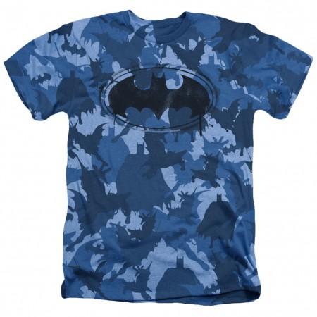 Batman Blue Camo Tshirt