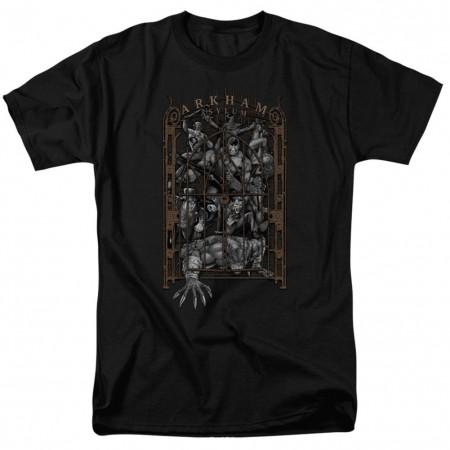 Batman Arkham's Gate Men's Black T-Shirt