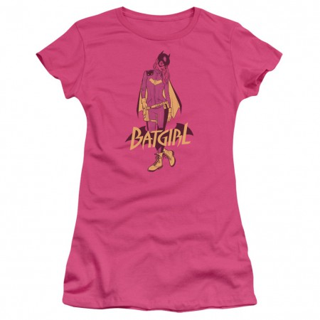 Batgirl Pink Women's Tshirt