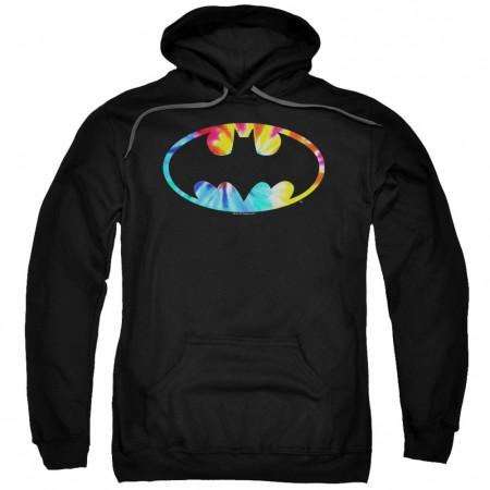 Batman Tie Dye Logo Hoodie