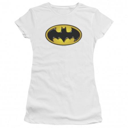 Batman Airbrushed Logo Women's Tshirt