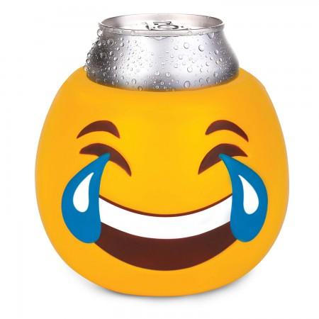 Tears Of Joy Emoji Face Beer Can Cooler